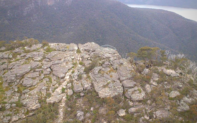 Ricksteel Fabrications Stawell - Lookout at hiking point